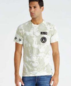 T-Shirt Camouflage-Optik