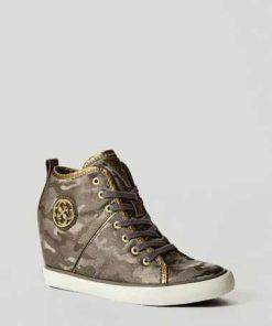 Sneaker-Wedges Jilly Tarnfarbe