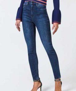 Jeans Skinny Hoher Bund