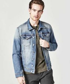 Klassische Jeansjacke