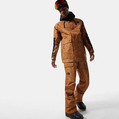 The North Face Herren Slashback Cargo-skihose Timber Tan Tonal Duck Camo Print Größe L Standard Herren