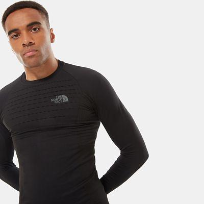 The North Face Sport Langarmshirt Für Herren Tnf Black/asphalt Grey Größe L/XL Herren