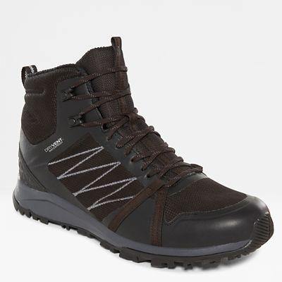 The North Face Herren Litewave Fastpack Ii Wasserfeste Wanderstiefel Tnf Black/ebony Grey Größe 40 Herren