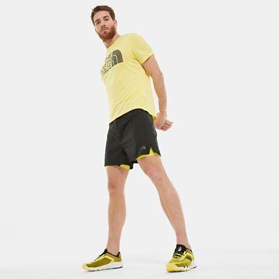 The North Face Herren Flight Series™ Better Than Naked Concept 2n1 Shorts Tnf Black/tnf Lemon Größe L Herren