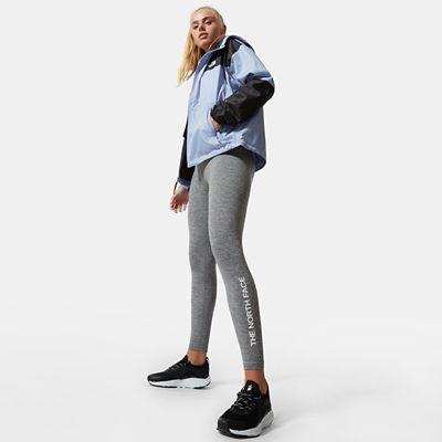 The North Face Zumu Leggings Für Damen Tnf Medium Grey Heather Größe XL Standard Damen