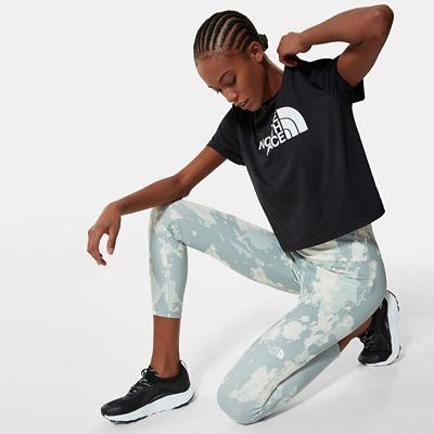 The North Face New Flex 7/8 Leggings Mit Hoher Taille Für Damen Wrought Iron Surreal Sky Print Größe L Standard Damen