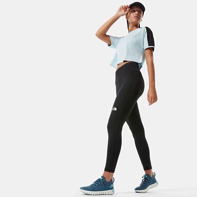 The North Face New Flex 7/8 Leggings Mit Hoher Taille Für Damen Tnf Black Größe L Standard Damen