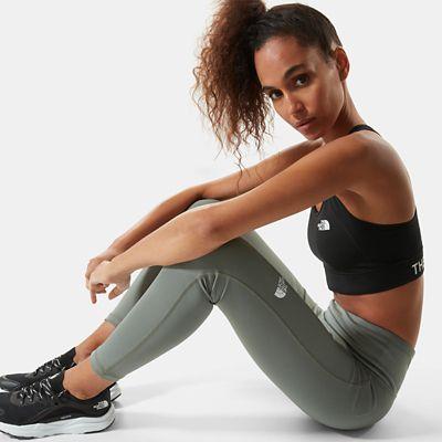 The North Face New Flex 7/8 Leggings Mit Hoher Taille Für Damen Agave Green Größe XS Standard Damen