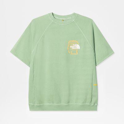 The North Face Tnf X Brain Dead Kletter-sweatshirt Sullivan Green Größe XS Herren