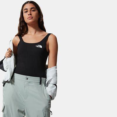 The North Face Cotton Bodysuit Für Damen Tnf Black Größe L Damen