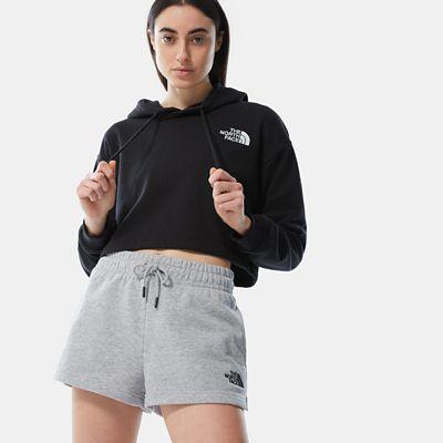 The North Face Mix & Match Shorts Für Damen Tnf Light Grey Heather Größe M Damen