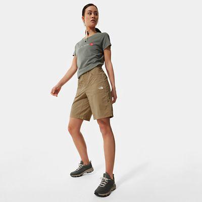 The North Face Horizon Sunnyside Shorts Für Damen Kelp Tan Größe 40 Standard Damen