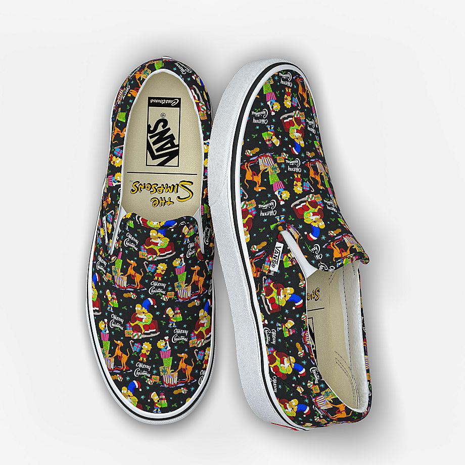 VANS Personalisierbare The Simpsons X Vans Slip-on (multicolour) Damen Multicolour, Größe 38.5