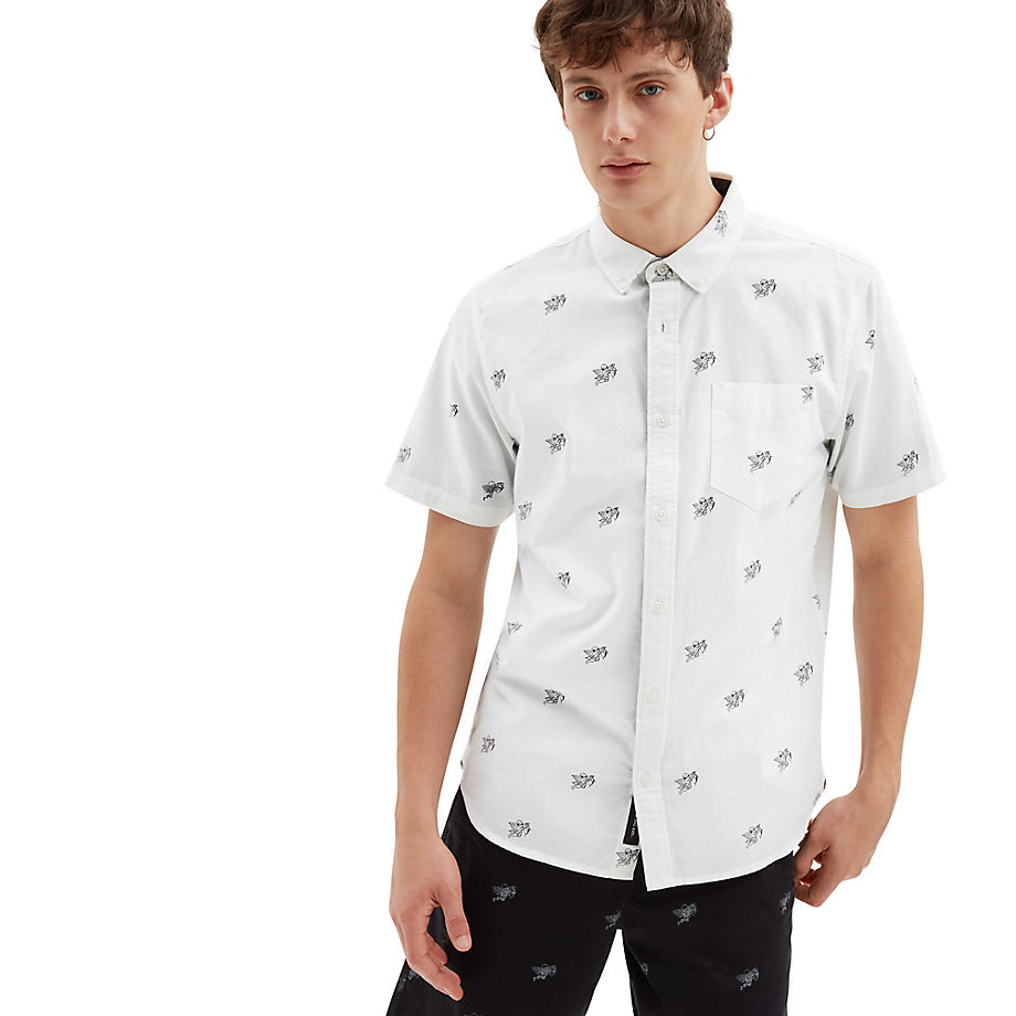 VANS Houser Hemd (love Hate) Herren Weiß, Größe L