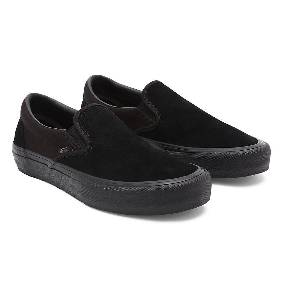 VANS Slip-on Pro Schuhe (blackout) Damen Schwarz, Größe 34.5