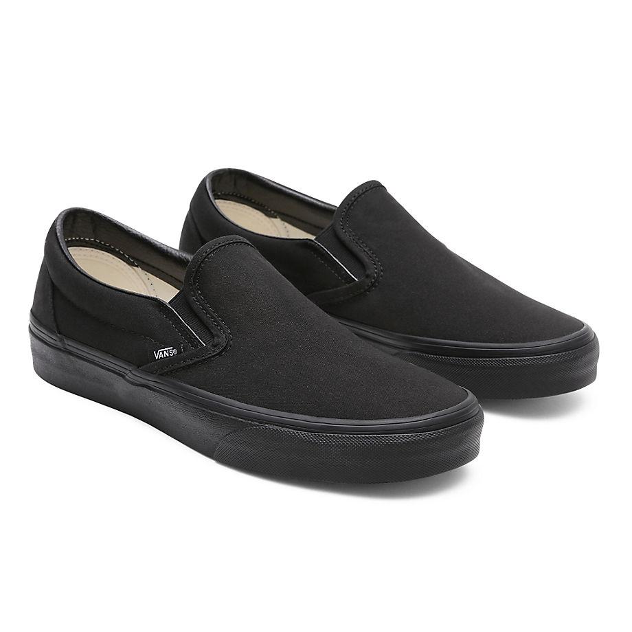 VANS Classic Slip-on Schuhe (black/black) Damen Schwarz, Größe 34.5