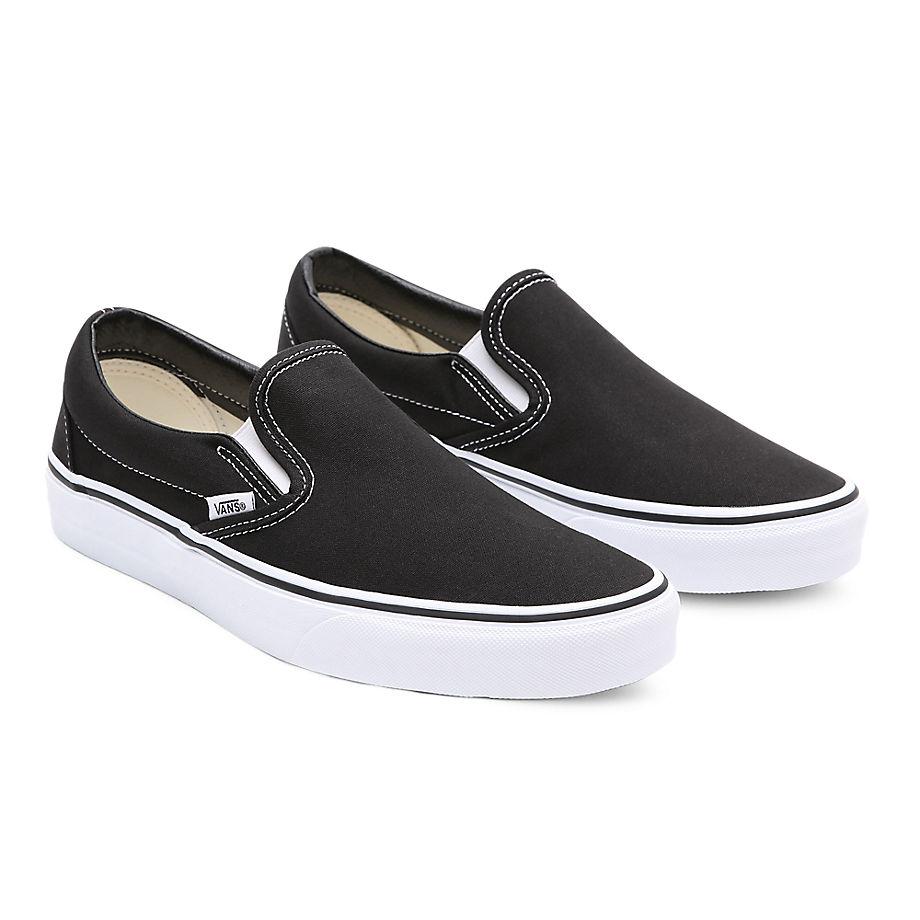 VANS Classic Slip-on Schuhe (black) Damen Schwarz, Größe 34.5