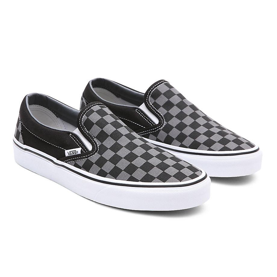 VANS Checkerboard Classic Slip-on Schuhe () Damen Schwarz, Größe 34.5
