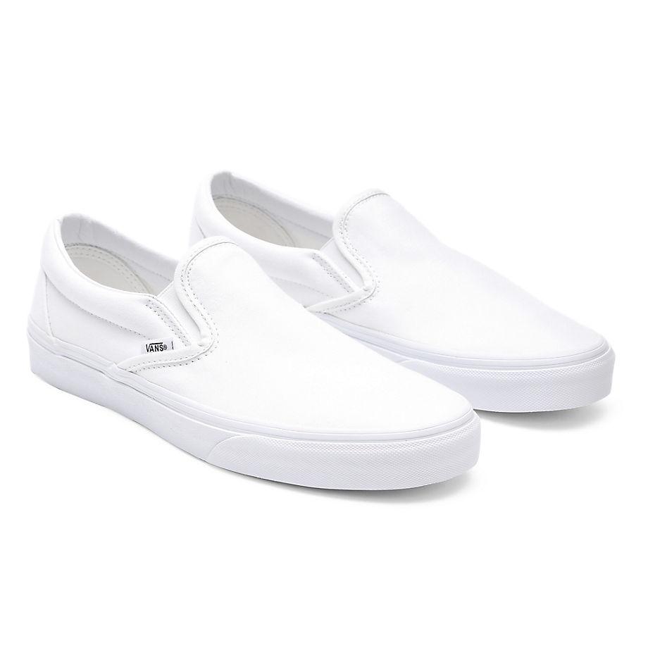 VANS Classic Slip-on Schuhe (true White) Damen Weiß, Größe 34.5