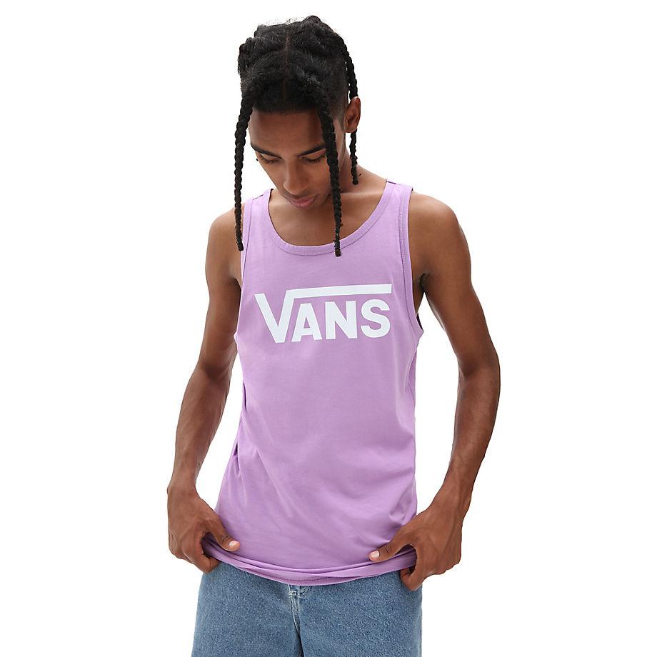 VANS Vans Classic Tanktop (english Lavender-white) Herren Violett, Größe L