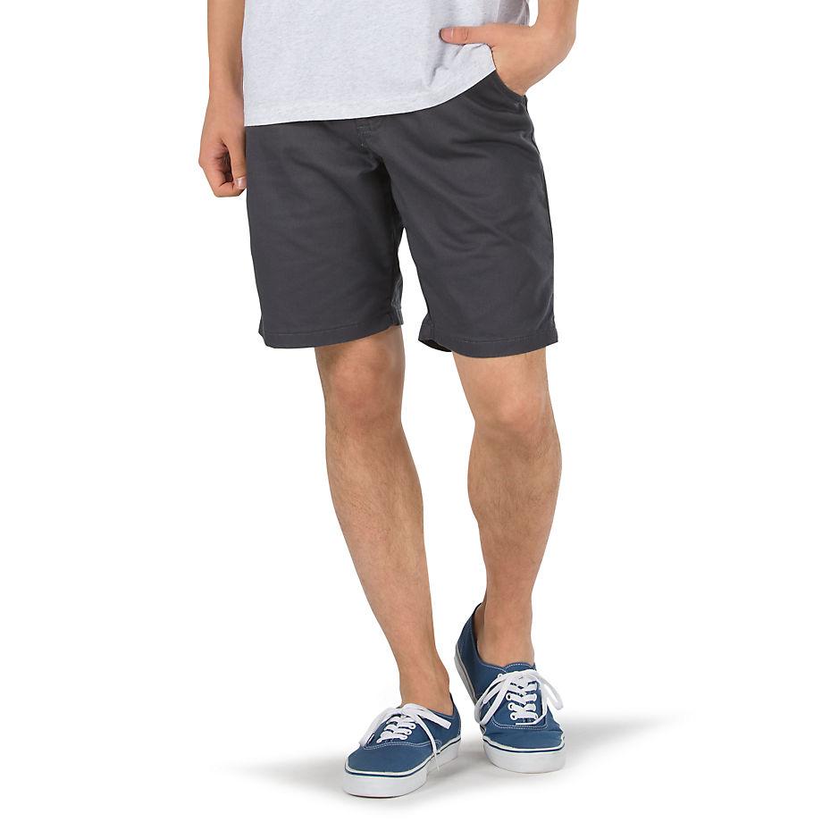 VANS Authentic Stretch-shorts 20'' (asphalt) Herren Grau, Größe 28