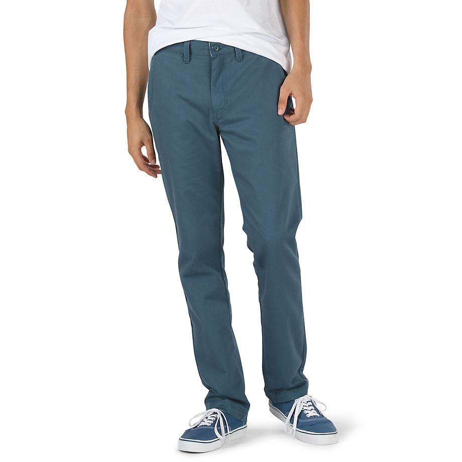 VANS Authentic Chino Stretch Hose (stargazer) Herren Blau, Größe 28