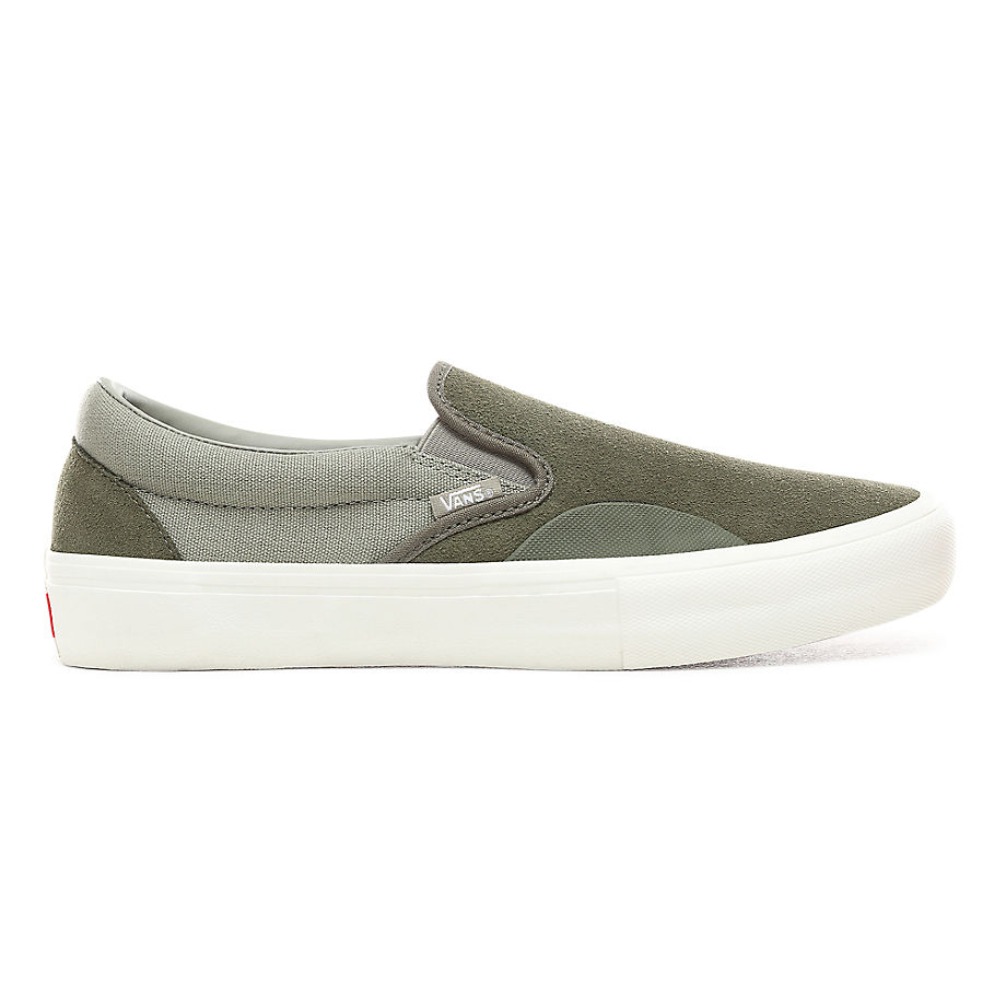 VANS Slip-on Schuhe (grape Leaf/laurel Oak) Herren Grün, Größe 34.5