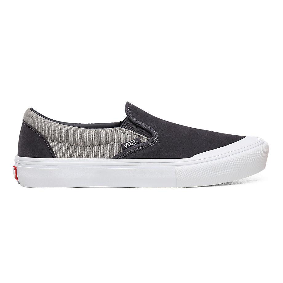 VANS Slip-on Pro Schuhe (periscope/drizzle) Damen Grau, Größe 34.5