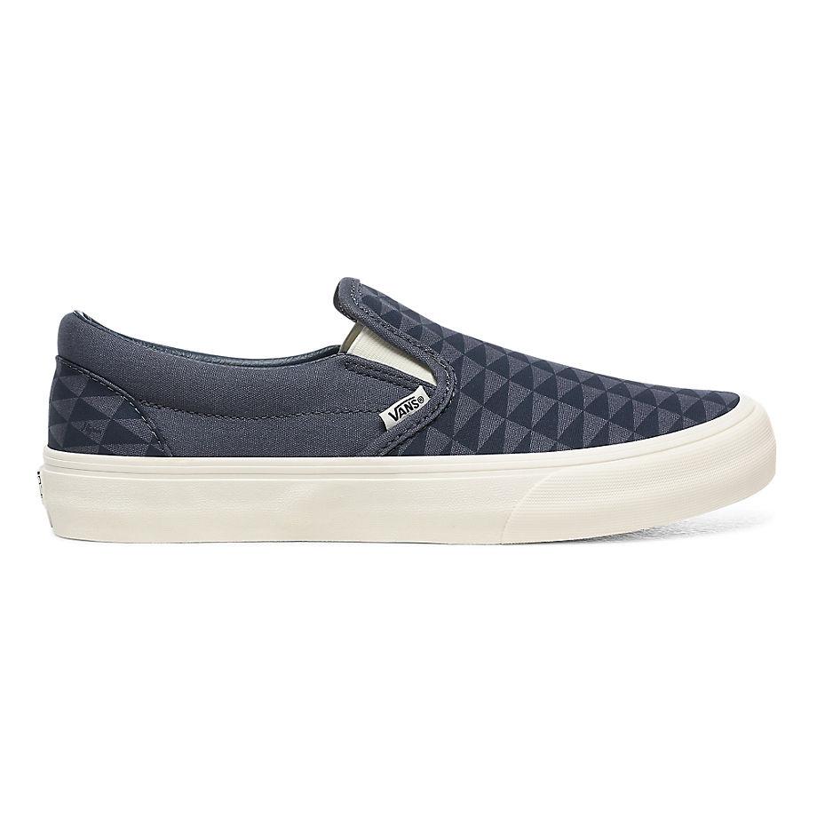 VANS Vans X Pilgrim Classic Slip-on Surf Schuhe ((pilgrim) Orion Blue/marshmallow) Damen Navy, Größe 34.5