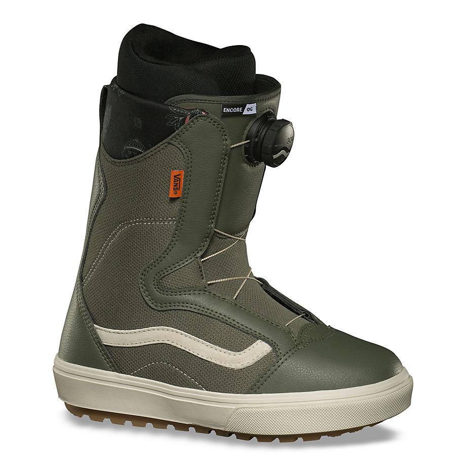 VANS Damen Encore Og Snowboard Boots (grape Leaf/oatmeal) Damen Grün, Größe 35