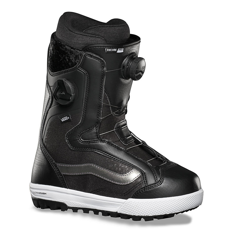 VANS Damen Encore Pro Snowboard Boots (black/irridescent) Damen Schwarz, Größe 35