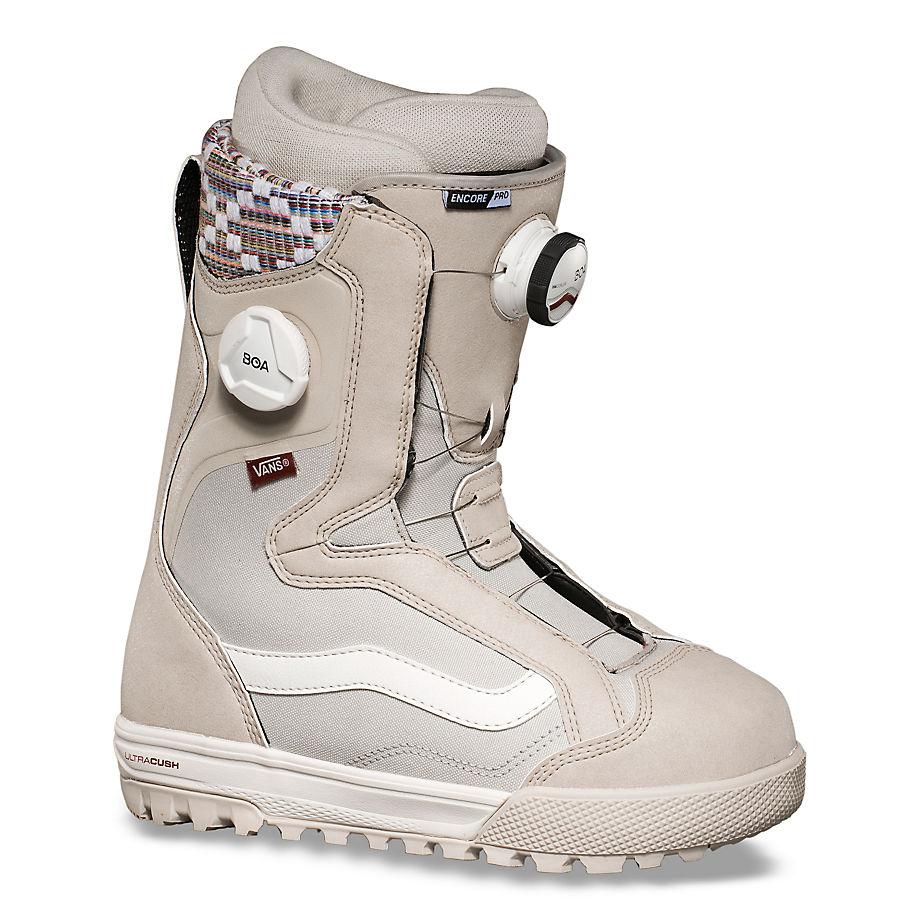 VANS Damen Encore Pro Snowboard Boots (oatmeal/peyote) Damen Weiß, Größe 35