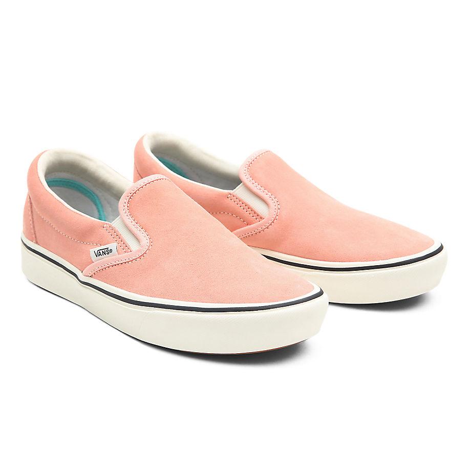 VANS Colour Pack Comfycush Slip-on Schuhe ((color Pack) Peach Pearl) Damen Rosa, Größe 34.5