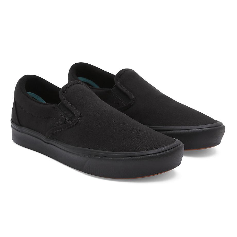 VANS Classic Comfycush Slip-on Schuhe ((classic) Black) Damen Schwarz, Größe 34.5
