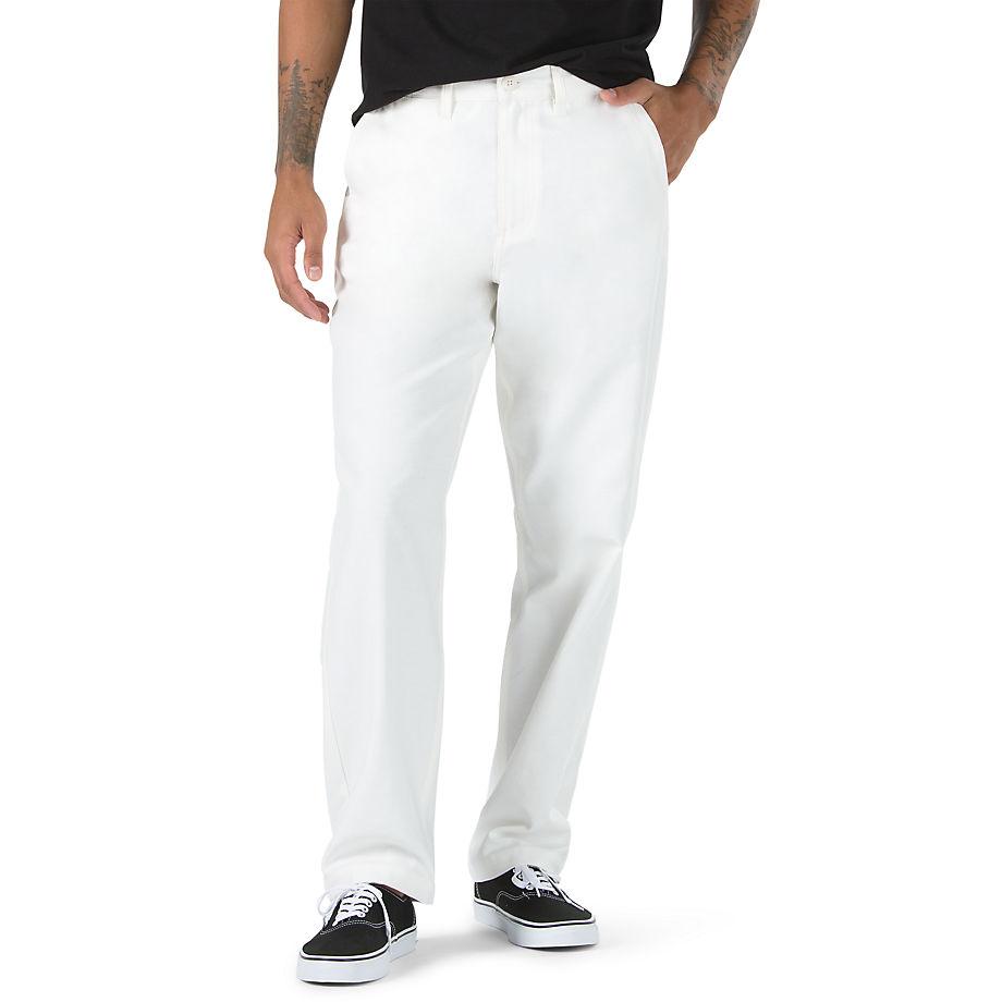 VANS Authentic Chino Hose (antique White) Herren Weiß, Größe 28