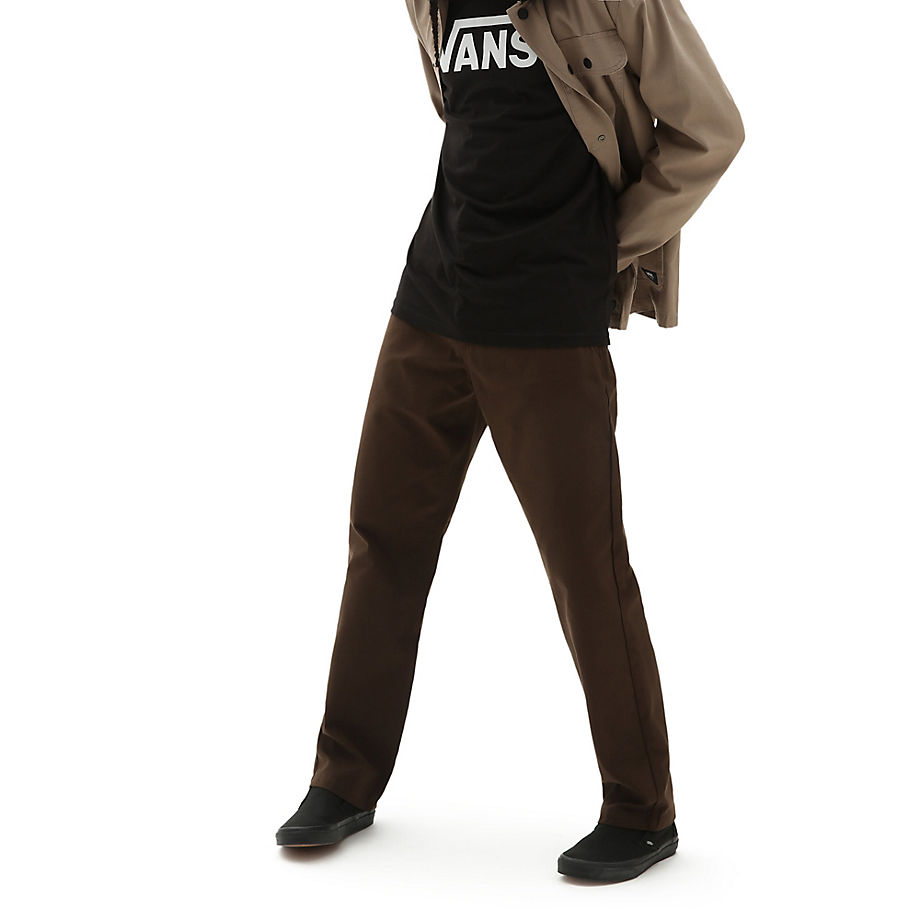VANS Authentic Chino Glide Pro Hose (demitasse) Herren Braun, Größe 28