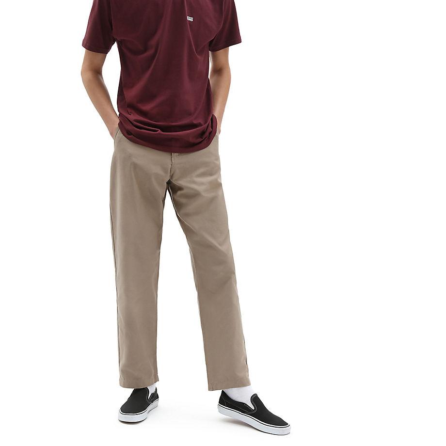 VANS Authentic Chino Glide Pro Hose (military Khaki) Herren Braun, Größe 28