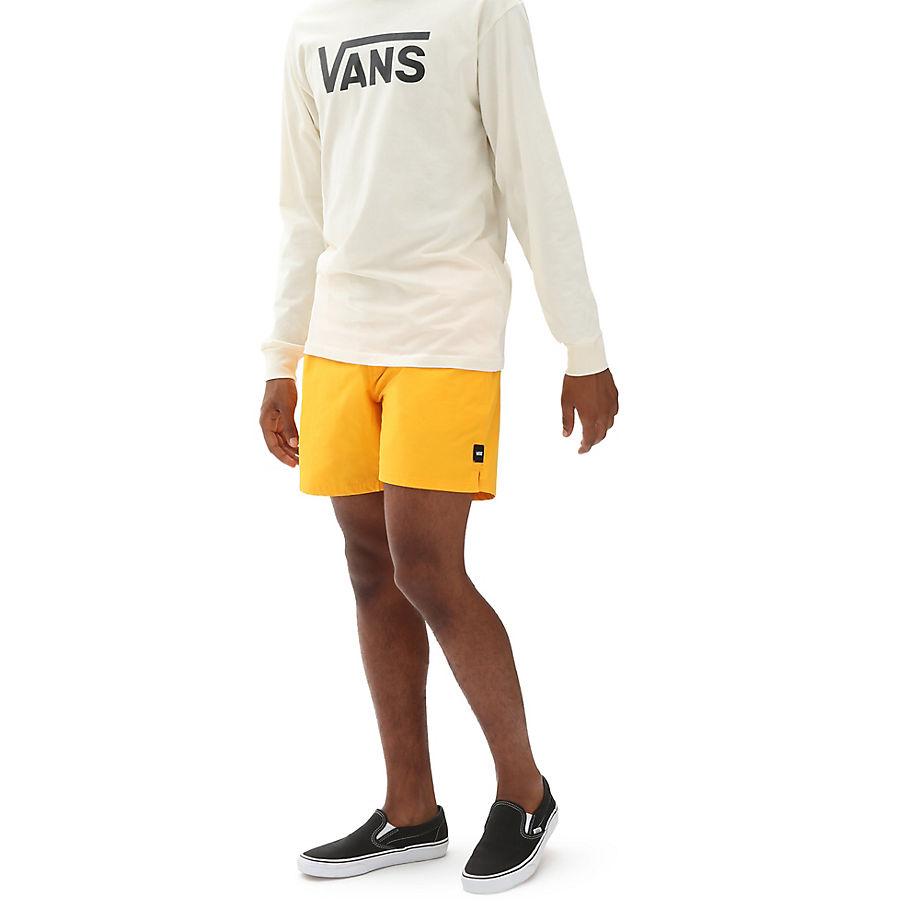 VANS Primary Volley Boardshorts (saffron) Herren Gelb, Größe L