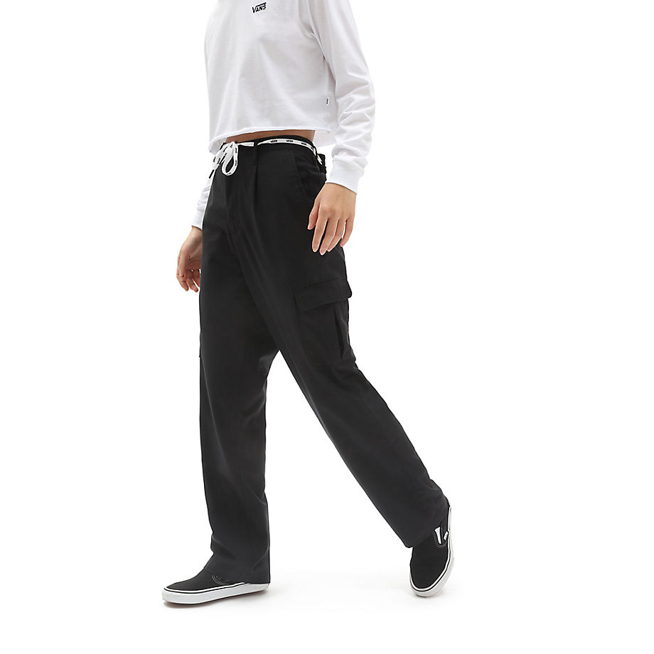 VANS Shoe Lace Cargohose (black) Damen Schwarz, Größe L
