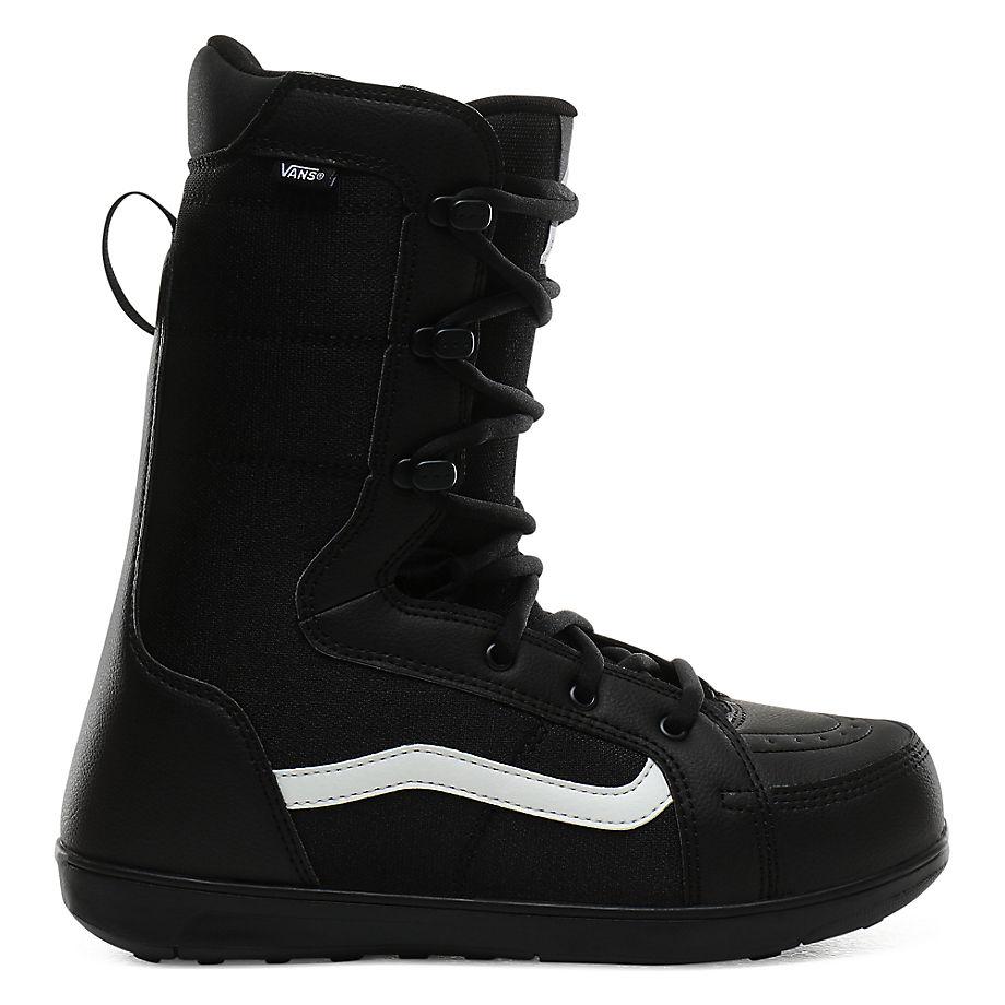 VANS Herren Hi-standard Linerless Snowboard Boots (black/white) Herren Schwarz, Größe 39