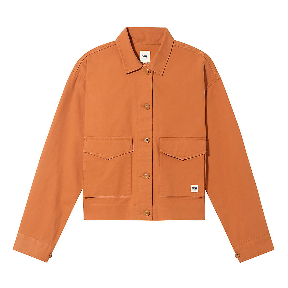 VANS Callahan Hemdjacke (adobe) Damen Orange, Größe XL