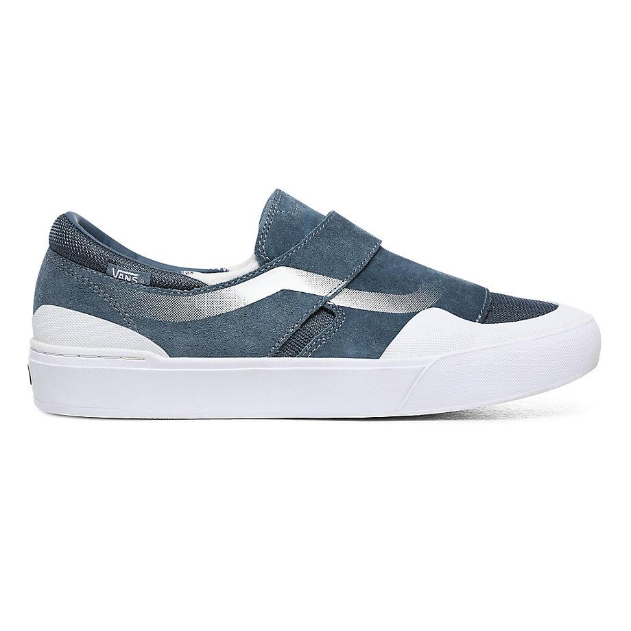VANS Mirage Slip-on Exp Pro Schuhe ((mirage) Blue/white) Damen Blau, Größe 34.5