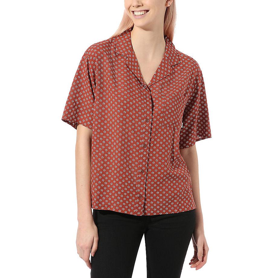 VANS Tipper Hemd (henna) Damen Rot, Größe L