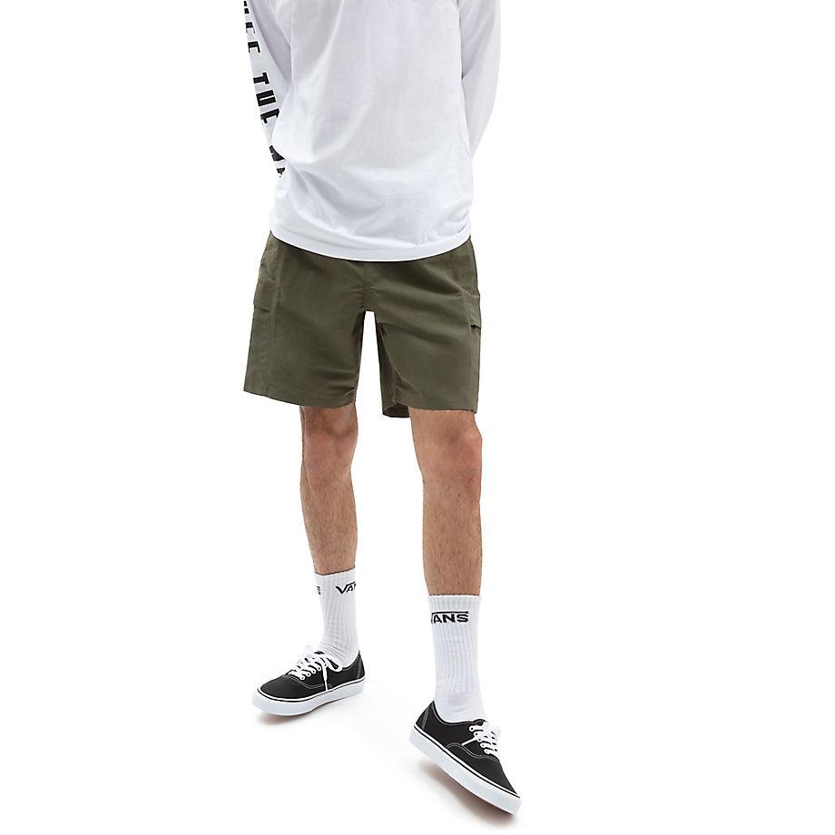 VANS Response Shorts (grape Leaf) Herren Grün, Größe L