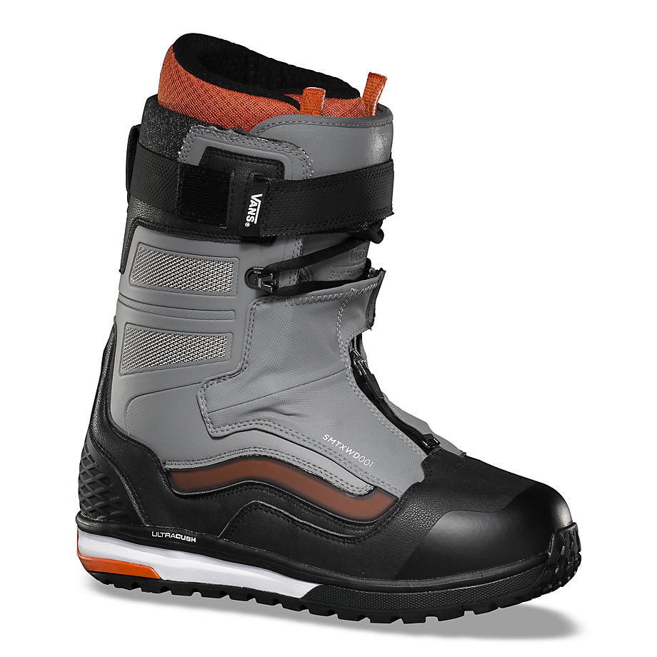 VANS Herren Sam Taxwood Hi-country & Hell-bound Snowboard Boots ((sam Taxwood) Gray/black) Herren Grau, Größe 39