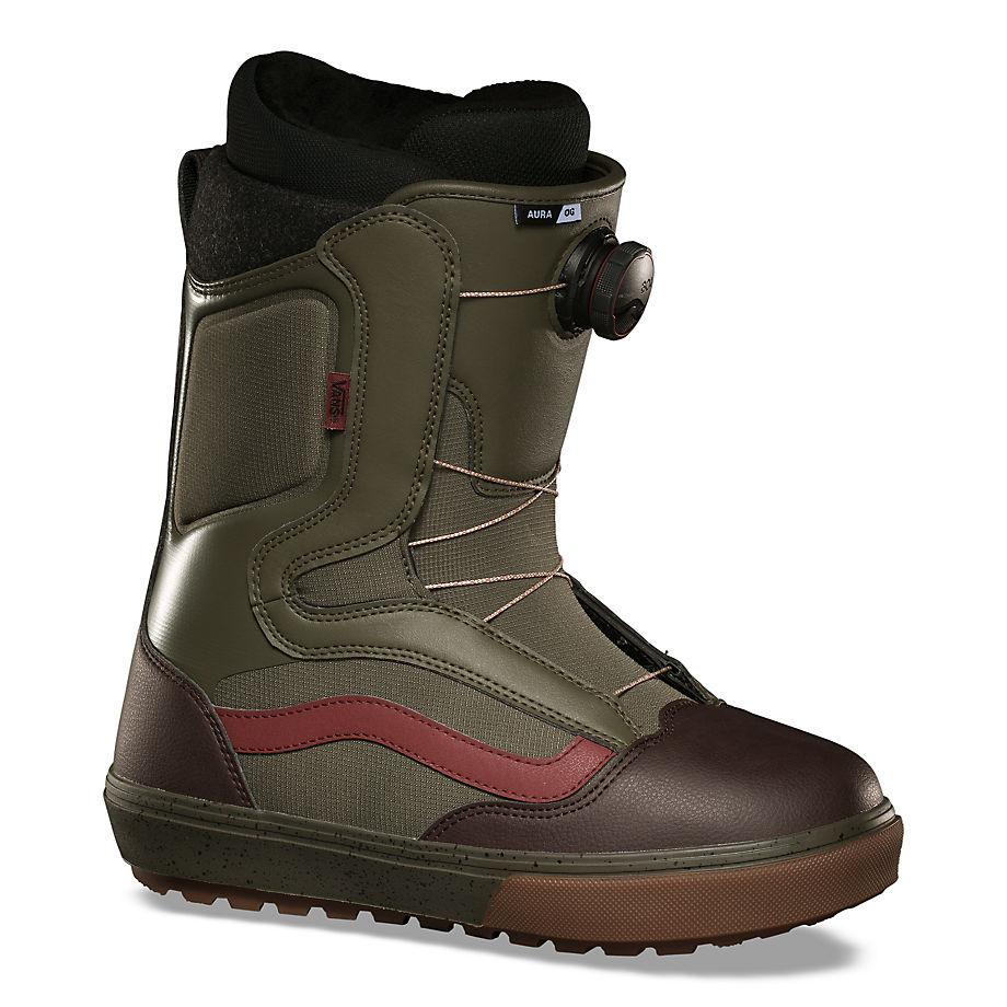 VANS Herren Aura Og Snowboard Boots (grape Leaf/gum) Herren Grün, Größe 39