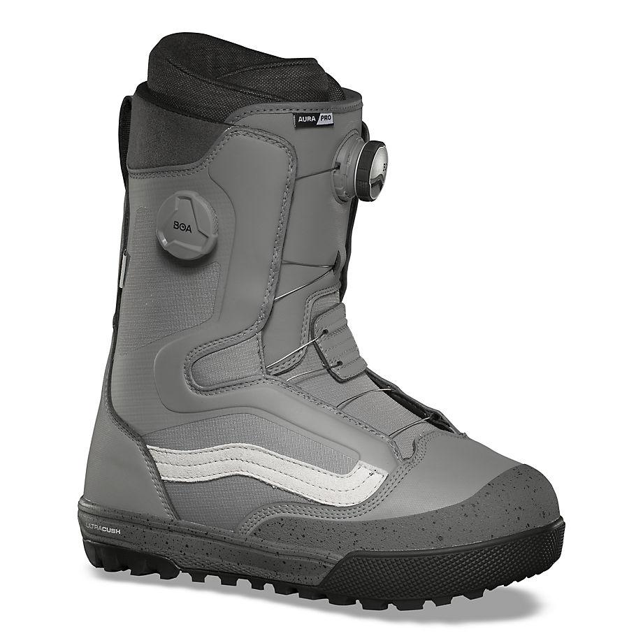 VANS Herren Aura Pro Snowboard Boots (gray/marshmallow) Herren Grau, Größe 39